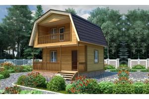 Практичный загородный домик