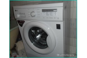 стиральная машина для совмещённой ванной комнаты