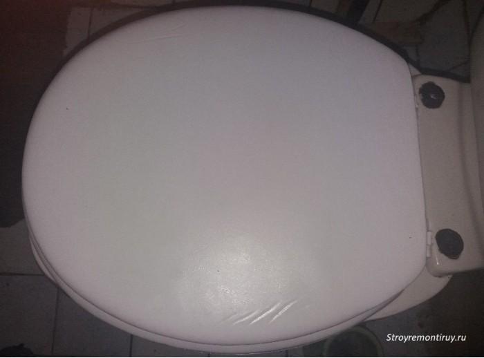 Мягкое сиденье для унитаза