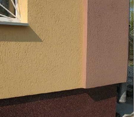 Декоративная штукатурка короед фото фасадов.