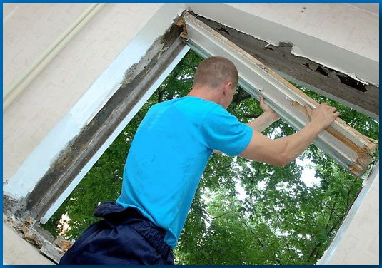 Демонтаж окна своими руками - подготовка и этапы - блог stro.