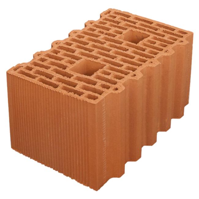 Крупноформатные керамические блоки и сухие смеси