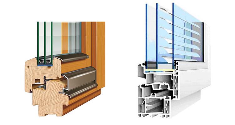 Сравнение свойств пластиковых и деревянных окон